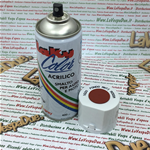 Vernice Spray ANTIRUGGINE  Extra Fondo per Carrozzeria colore ANTIRUGGINE ROSSA Uso Professionale Bomboletta da 400 ml con Valvola Autopulente