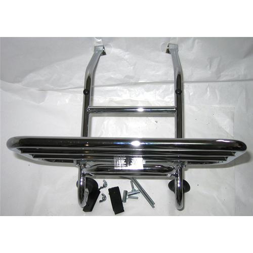 3c93481338 Portapacchi anteriore cromato per VESPA 125 160 180 150 200 PX PE T5 SP GS  GL SPRINT